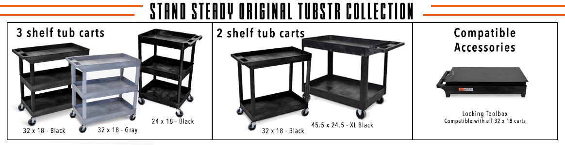 Stand Steady, Tubstr, Original Tubstr