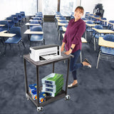 Use this cart in a variety of different settings, including warehouses, home, school, offices, and more!