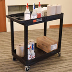 Two Shelf Utility Tub Cart - 400 lbs