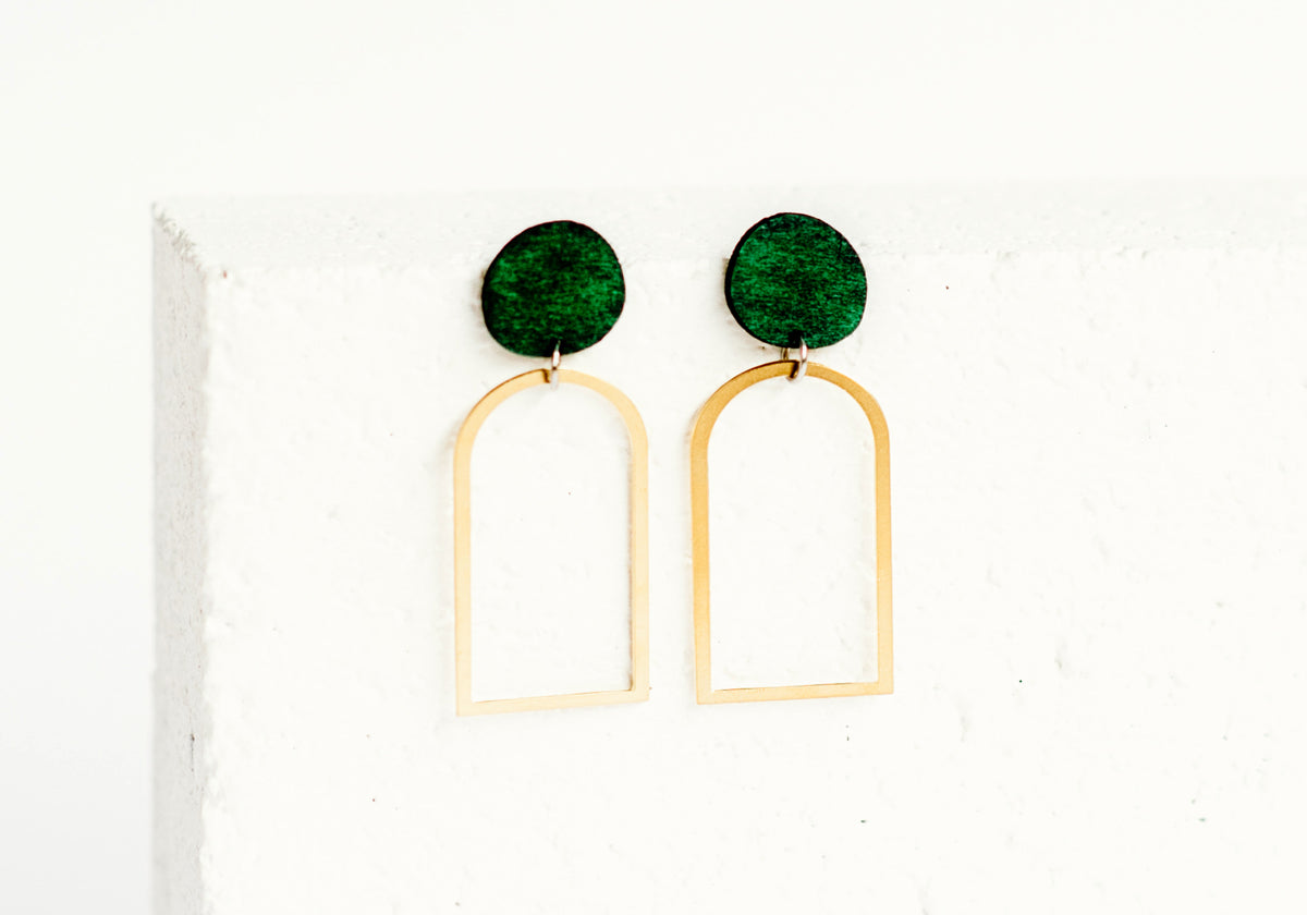 Arches Earring Forest