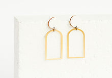 Load image into Gallery viewer, Arches Earring White