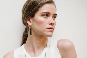 Axis Earring Blush