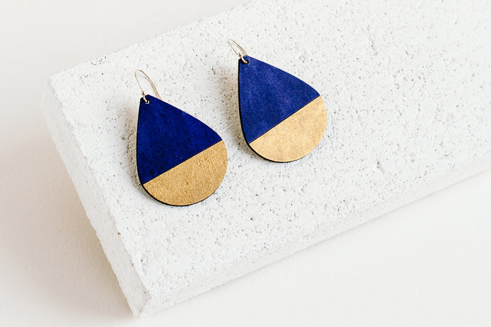 Drop Earring Indigo
