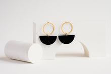 Load image into Gallery viewer, Luna Earring Black