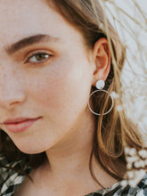 Load image into Gallery viewer, Hoopla Earrings Clay
