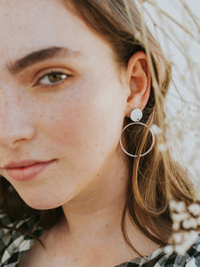 Hoopla Earrings Clay