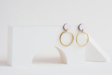 Load image into Gallery viewer, Orbit Earrings Blush