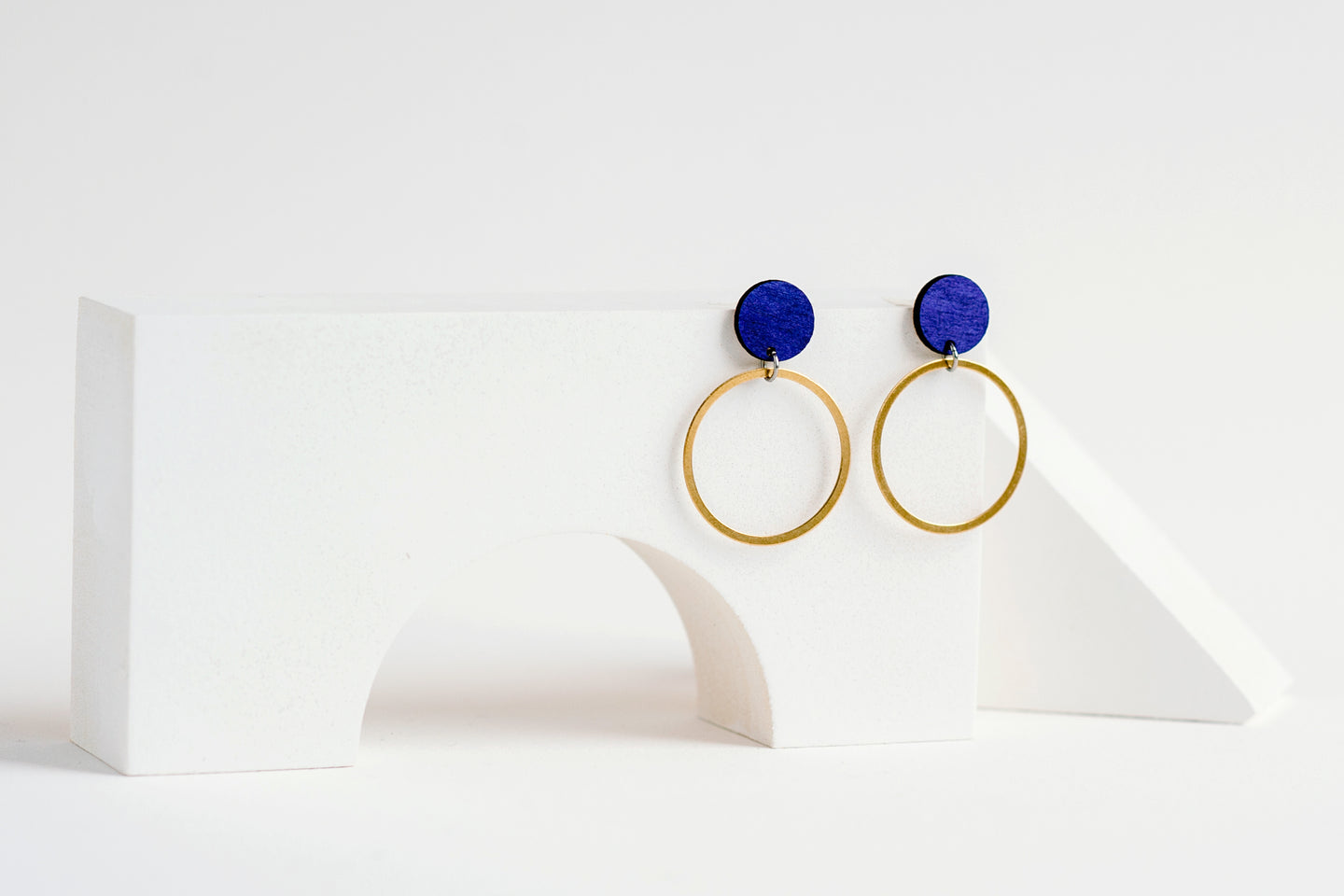 Orbit Earring Indigo