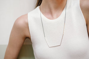 Scope Necklace Mustard
