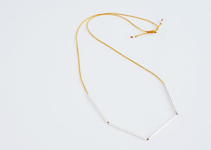 Scope Necklace Black