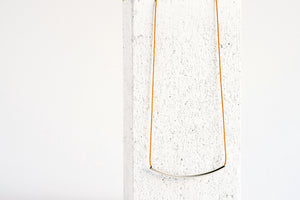 Arch Necklace Mustard
