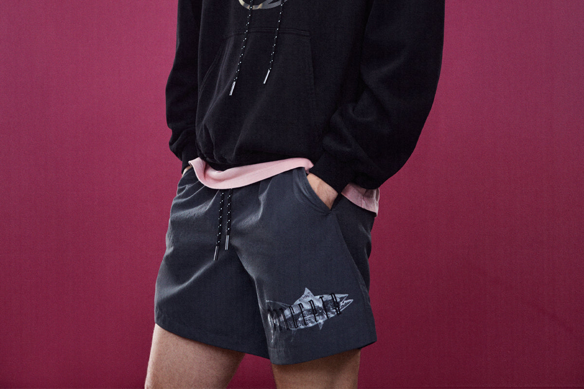 Concepts Gothic Fish Shorts (Pewter)