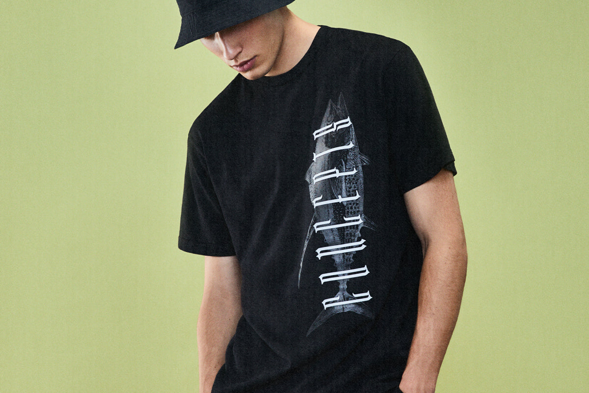 Concepts Gothic Fish Tee (Black)