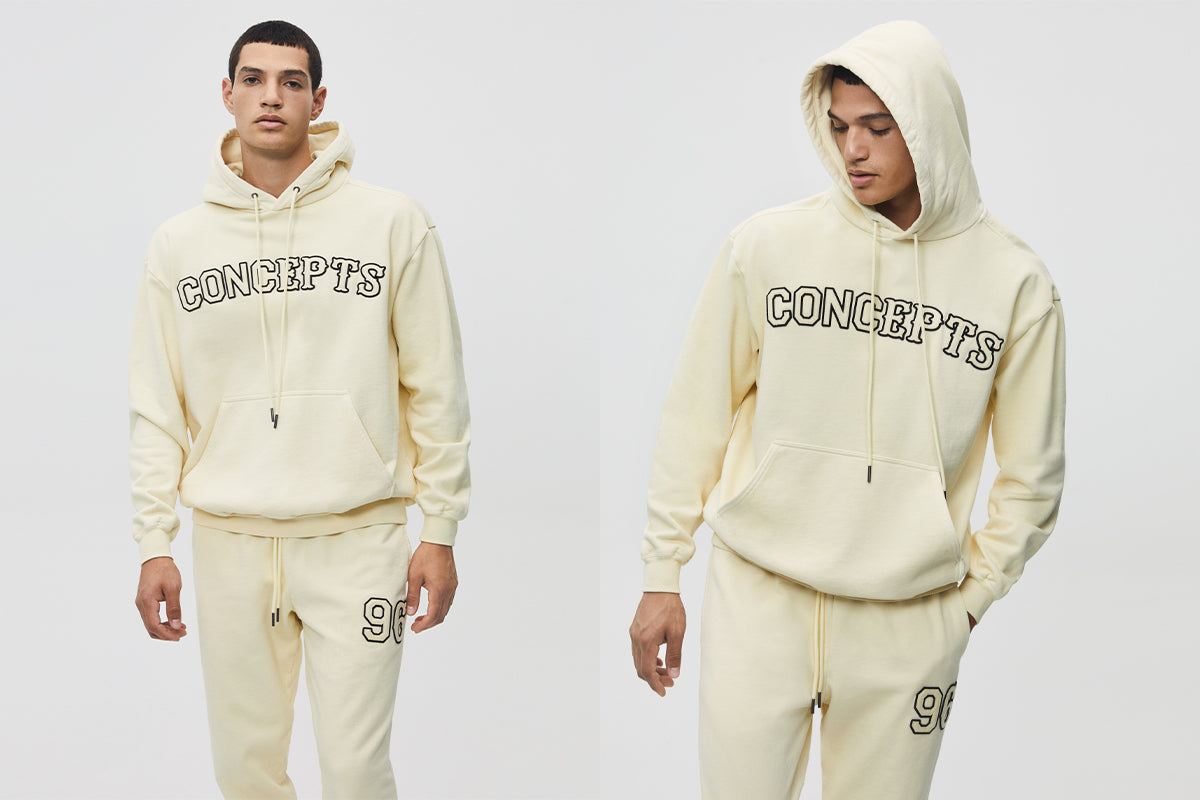Concepts Headin' Home Rival Patch Logo Hoodie (Fawn)