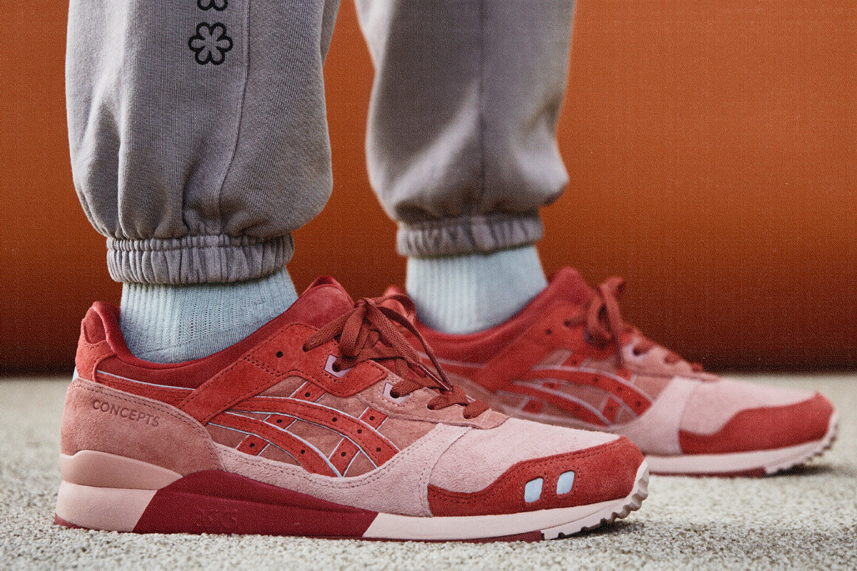 CONCEPTS X ASICS GEL-LYTE III OG 'OTORO' (CORAL CLOUD/PURE SILVER)