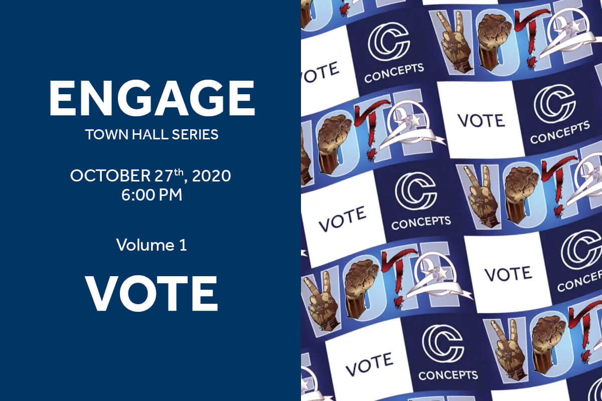 Engage: Concepts Town Hall Series Vol. 1: Vote