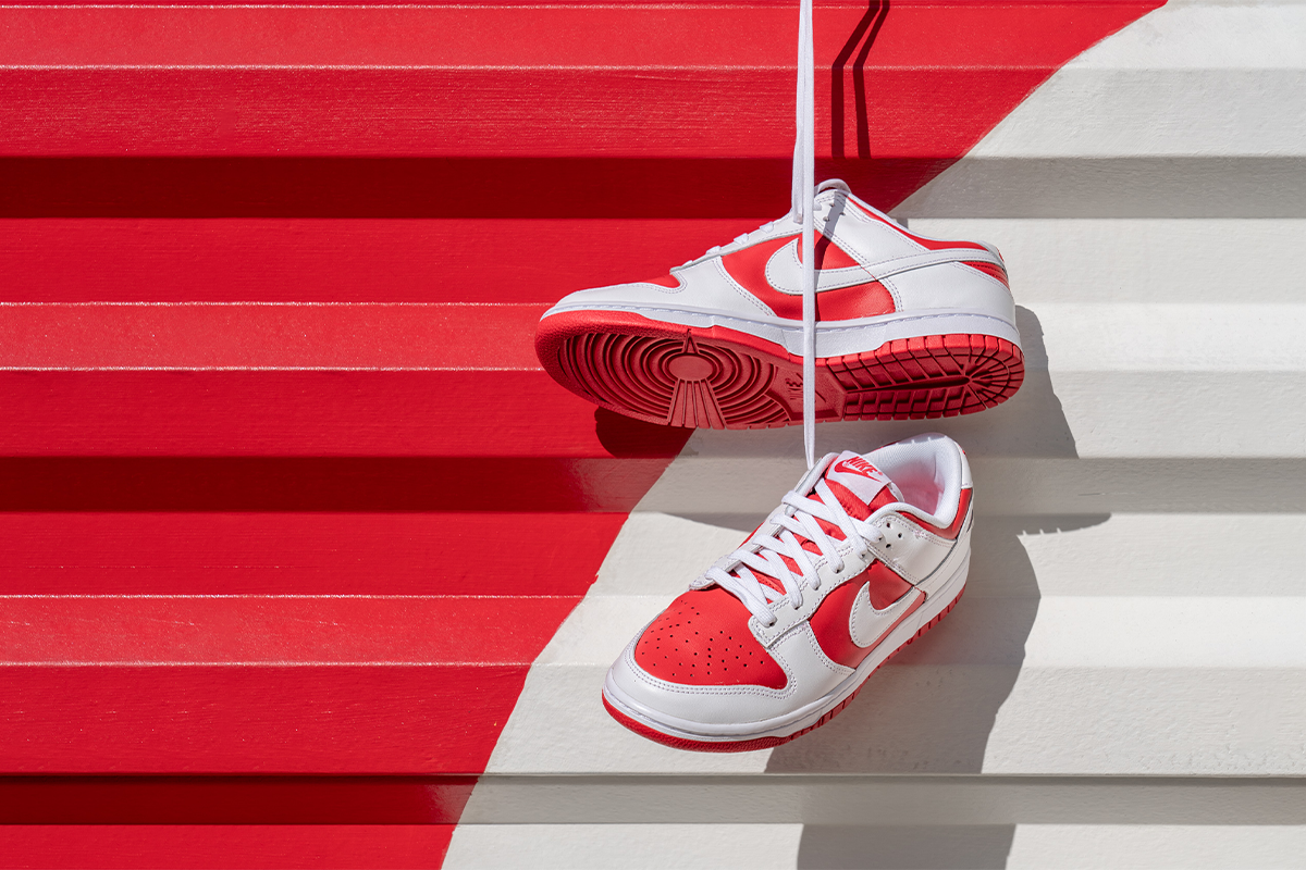 Nike Dunk Low 'Championship Red'