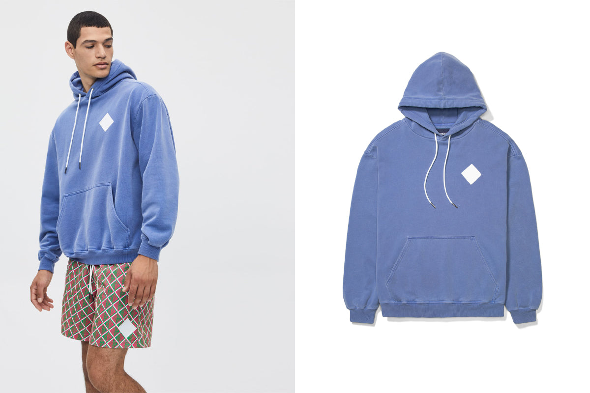 Concepts Vineyard Washed Hoodie (Washed Blue)