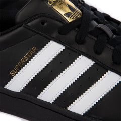 adidas Superstar Foundation (Black/White/Black)