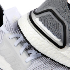 adidas Women's UltraBOOST 19 (Cloud White/Crystal White/Grey Two)