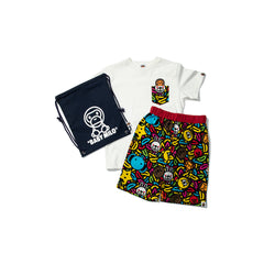 A BATHING APE KID'S MILO BANANA POOL GIFT SET (MULTI)