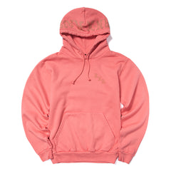 Born x Raised BXR Flocked Hoody (Dusty Rose)
