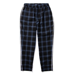 Born x Raised PLAID LOUNGE PANT (Blue)