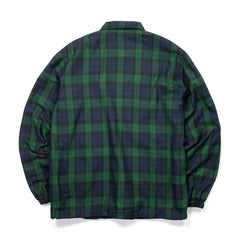 Concepts Plaid Coach's Jacket (Dark Green)