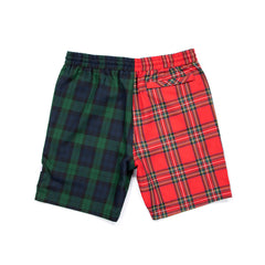Concepts Two Tone Plaid Short (Red/Blue)