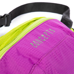 CONCEPTS DRIP LOGO FANNYPACK (PINK/GREEN)