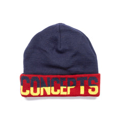 "Concepts ""1996"" Beanie (Navy/Green/Burgundy)"