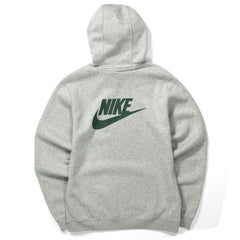 Nike NRG Club Hoodie PO BB Stranger Things (Dk Grey Heather/White/Fir)