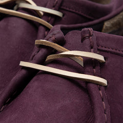 Clarks Wallabee (Purple Grape Nubuck)