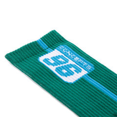 CONCEPTS 96 PLATE SOCKS (GREEN/PRIMROSE)