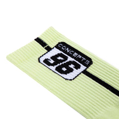 Concepts 96 Plate Socks (Primrose/Black)