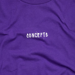 Concepts Drip Logo Tee (Purple)