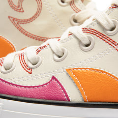 Converse CTAS HI ( EGRET/HABANERO RED/ORANGE RIND/BONE)