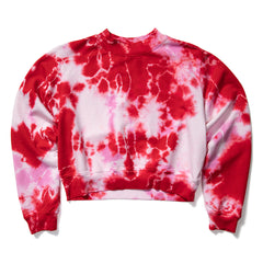 Cotton Citizen Women's Milan Crew (Cherry+Flamingo)