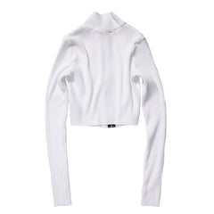 COTTON CITIZEN WOMEN'S IBIZA TURTLENECK (WHITE)