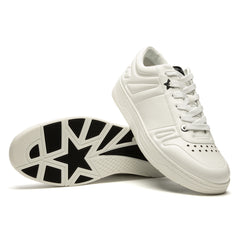 JIMMY CHOO HAWAII LOW TOP TRAINER (WHITE)
