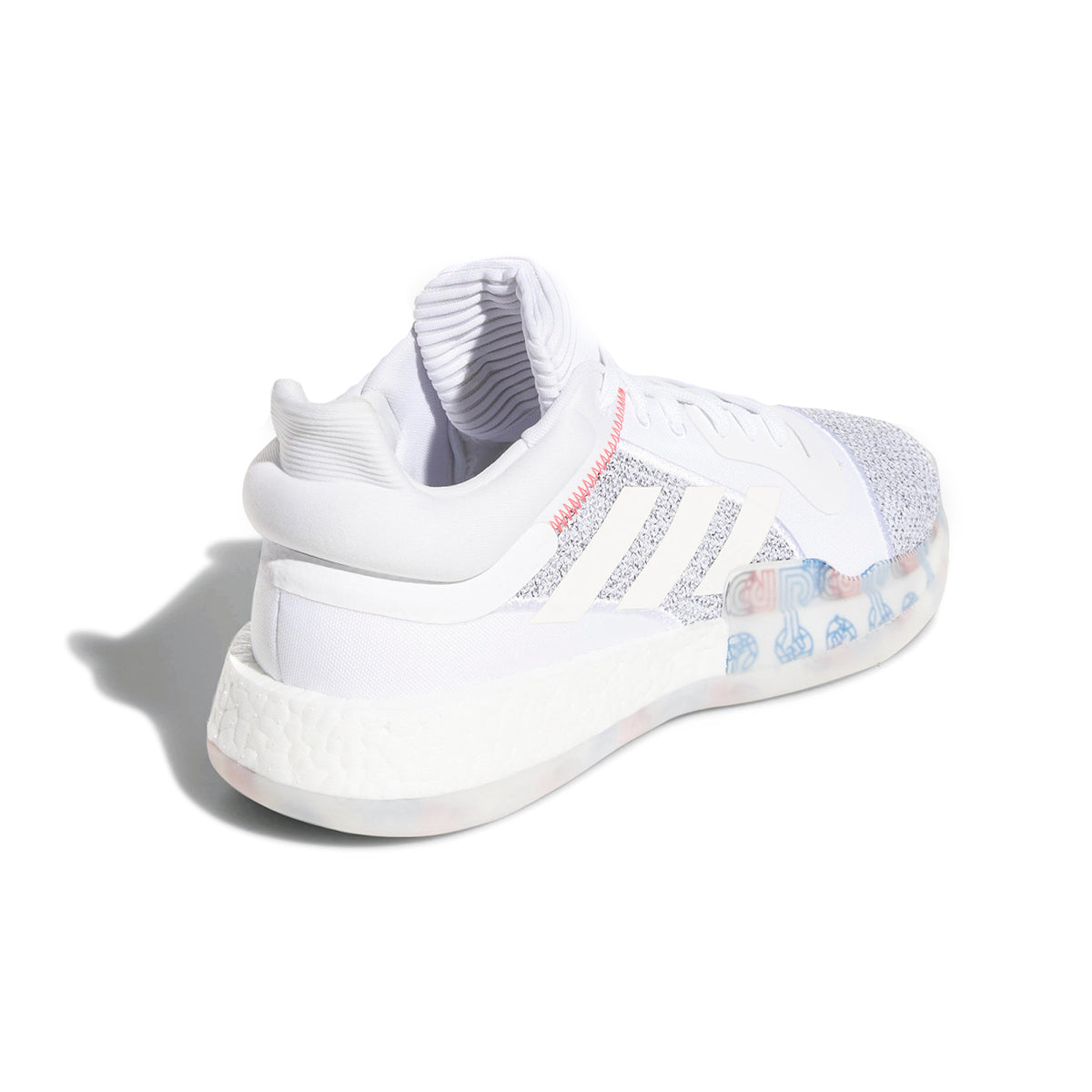 adidas Marquee Boost Low (White Off White Shocya) 6faf53f90