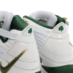 Nike Zoom Lebron III QS (White/Deep Forest-Metallic Gold)