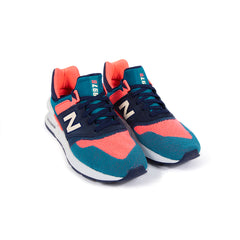 New Balance MS997 (Blue/Coral Pink)