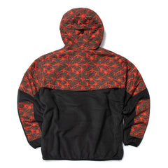 Nike ACG NRG AOP Lightweight FLC Jacket (Black/Rush Red)