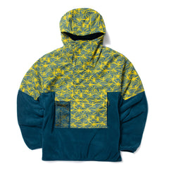 Nike ACG NRG AOP Light Weight FLC Jacket (Valerian Blue/Tour Yellow)