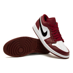 Nike Air Jordan 1 Low (NOBLE RED/BLACK-WHITE)