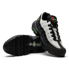 Nike Air Max 95 Essential (Black/Electric Green-Platinum Tint)
