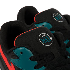Nike Air Max2 Light (Black/Habanero Red-Geode Teal)