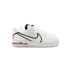 Nike Air Force 1 React (White/Black-University Red)