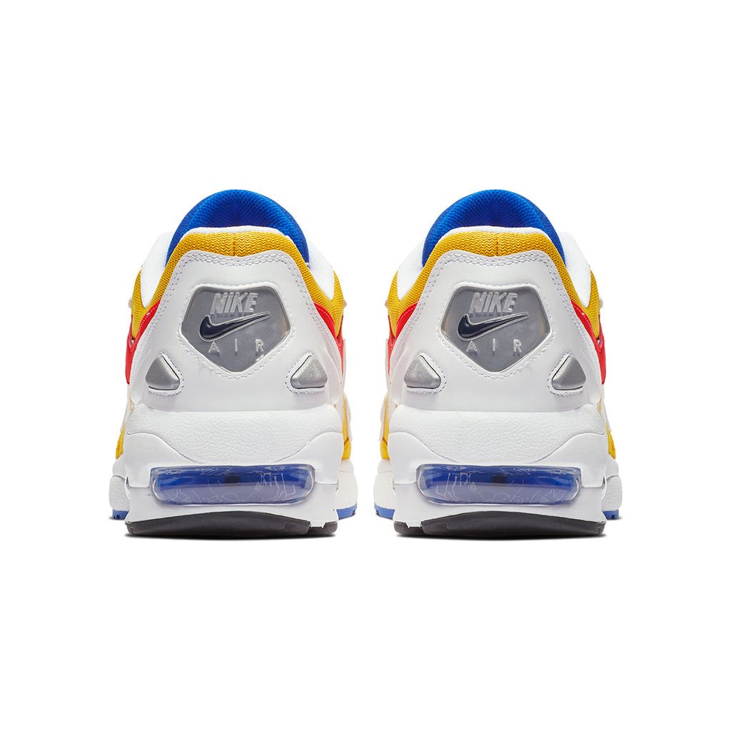 7b6a243e5c ConceptsIntl | Nike Air Max2 Light (University Gold/Flash Crimson ...